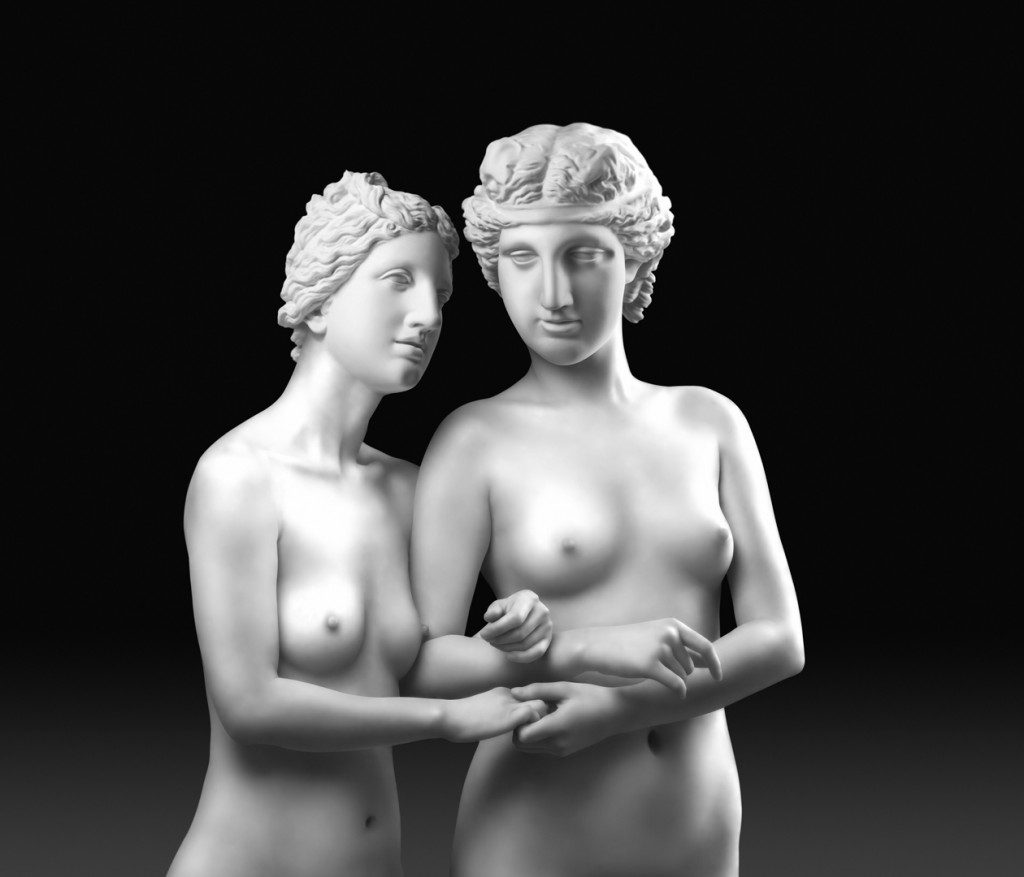 Two Graces I, 2007