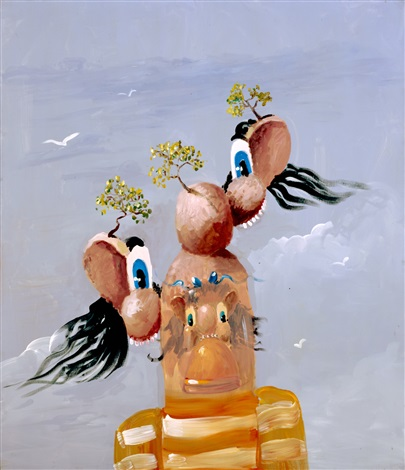 george-condo-mountainous-figure